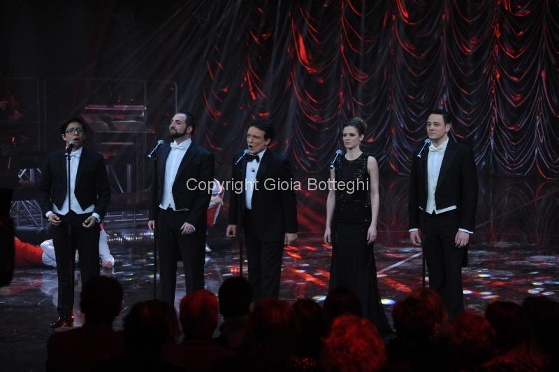 16/01/2016 Roma prima puntata di Sogno e son desto 3, nella foto: Massimo Ranieri