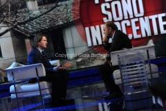 05/02/2015 Roma Raffaele Sollecito ospite di Porta a porta