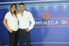 07/09/2015 Roma Spot della trasmissione Domenica in che sarà condotto da Paola Perego e Salvo Sottile