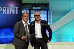 14/09/2014 Roma la nuova edizione di Stadio Sprint presentata da Enrico Varriale e Serse Cosmi
