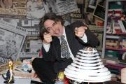 Roma, 16 aprile 2012. Rai,trasmissione di raidue STRACULT, nella foto: Francesco Scimemi