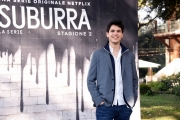Foto/IPP/Gioia Botteghi Roma20/02/2019 Presentazione del serie tv su netflix, Suburra 2, nella foto: Eduardo Valdarnini Italy Photo Press - World Copyright