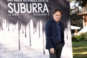 Foto/IPP/Gioia Botteghi Roma20/02/2019 Presentazione del serie tv su netflix, Suburra 2, nella foto: Francesco Acquaroli Italy Photo Press - World Copyright