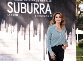 Foto/IPP/Gioia Botteghi Roma20/02/2019 Presentazione del serie tv su netflix, Suburra 2, nella foto: Claudia Gerini Italy Photo Press - World Copyright