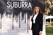 Foto/IPP/Gioia Botteghi Roma20/02/2019 Presentazione del serie tv su netflix, Suburra 2, nella foto: Barbara Chichiarelli Italy Photo Press - World Copyright