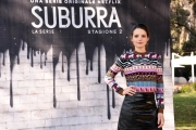 Foto/IPP/Gioia Botteghi Roma20/02/2019 Presentazione del serie tv su netflix, Suburra 2, nella foto: Federica Sabatini Italy Photo Press - World Copyright