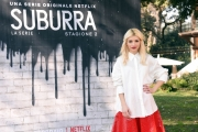 Foto/IPP/Gioia Botteghi Roma20/02/2019 Presentazione del serie tv su netflix, Suburra 2, nella foto: Carlotta Antonelli Italy Photo Press - World Copyright