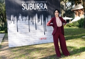 Foto/IPP/Gioia Botteghi Roma20/02/2019 Presentazione del serie tv su netflix, Suburra 2, nella foto: Cristina Pelliccia Italy Photo Press - World Copyright