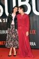 Foto/IPP/Gioia Botteghi 04/10/2017 Roma, red carpet di SUBURRA la serie, nella foto: Giulia Bevilacqua con Claudia Pandolfi