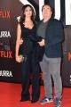 Foto/IPP/Gioia Botteghi 04/10/2017 Roma, red carpet di SUBURRA la serie, nella foto:   Mariagrazia Cucinotta e marito