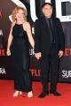 Foto/IPP/Gioia Botteghi 04/10/2017 Roma, red carpet di SUBURRA la serie, nella foto:   Francesco Acquaroli e signora