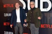 Foto/IPP/Gioia Botteghi 04/10/2017 Roma, red carpet di SUBURRA la serie, nella foto:     i registi Michele Placido e Andrea Molaioli