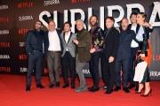 Foto/IPP/Gioia Botteghi 04/10/2017 Roma, red carpet di SUBURRA la serie, nella foto:     cast e registi