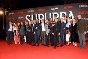 Foto/IPP/Gioia Botteghi 04/10/2017 Roma, red carpet di SUBURRA la serie, nella foto:       tutti