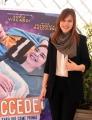 Foto/Gioia Botteghi 26/03/2018 Roma, presentazione del film Succede, nella foto: la regista  Francesca Mazzoleni  Italy Photo Press - World Copyright