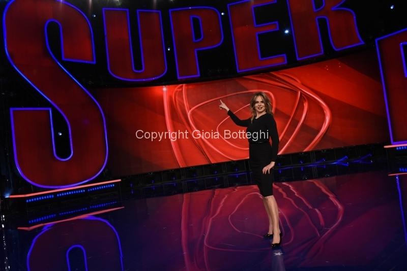 Foto/IPP/Gioia Botteghi Roma07/01/2019 Prima registrazione della trasmissione SUPERBRAIN, nella foto: Paola Perego Italy Photo Press - World Copyright