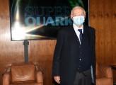 Foto/IPP/Gioia Botteghi Roma 05/10/2020 Piero Angela presenta la nuova serie di Superquark in onda su Rai play Italy Photo Press - World Copyright