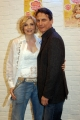 12/04/06Presentazione delllo spettacolo teatrale SWEET CHARITY che partirà da Milano il 5 maggio nelle foto Lorella Cuccarini con Cesare Bocci