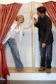 Gioia Botteghi/OMEGA 12/04/06Presentazione delllo spettacolo teatrale SWEET CHARITY che partirà da Milano il 5 maggio nelle foto Lorella Cuccarini con Cesare Bocci
