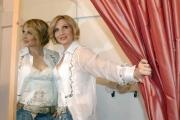 Gioia Botteghi/OMEGA 12/04/06Presentazione delllo spettacolo teatrale SWEET CHARITY che partirà da Milano il 5 maggio nelle foto  Lorella Cuccarini