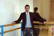 Gioia Botteghi/OMEGA 12/04/06Presentazione delllo spettacolo teatrale SWEET CHARITY che partirà da Milano il 5 maggio nelle foto  Luca Tommassini il coreografo