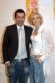 Gioia Botteghi/OMEGA 12/04/06Presentazione delllo spettacolo teatrale SWEET CHARITY che partirà da Milano il 5 maggio nelle foto Lorella Cuccarini con  Luca Tommassini il coreografo