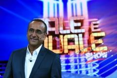 16/09/2016 Roma programma di rai uno Tale e Quale show, nella foto Carlo Conti