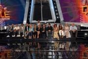 Foto/IPP/Gioia Botteghi 12/09/2018 Roma, Presentazione della nuova puntata di Tale e Quale show, nella foto: i concorrenti con Carlo Conti  Italy Photo Press - World Copyright