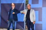 Foto/IPP/Gioia Botteghi Roma 16/09/2020 presentata la nuova edizione di Tali e quali show, nella foto Carlo Conti con il direttore di rai uno Stefano Coletta Italy Photo Press - World Copyright