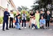 Foto/IPP/Gioia Botteghi Roma 16/09/2020 presentata la nuova edizione di Tali e quali show, nella foto tutti i concorrenti e Carlo Conti Italy Photo Press - World Copyright