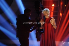 18/09/2015 Roma puntata della trasmissione di rai uno tale e quale show, nella foto: Laura Freddi