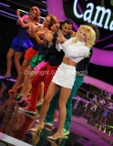 21/09/2012 Roma trasmissione rai Tali e Quali Show, nella foto Pamela Camassa imita Lorella Cuccarini