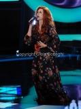 21/09/2012 Roma trasmissione rai Tali e Quali Show, nella foto Gigliola Cinquetti imita Milva