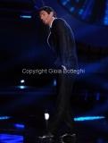 21/09/2012 Roma trasmissione rai Tali e Quali Show, nella foto Flavio Montrucchio Imita Morandi