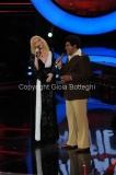 Roma 9/12/2012 serata speciale Tali e quali show coppie, nella foto: Serena Autieri e Enzo De Caro