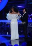 Roma 9/12/2012 serata speciale Tali e quali show coppie, nella foto: Fausto Leali e Luisa Corna