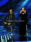 Roma 9/12/2012 serata speciale Tali e quali show coppie, nella foto: Manuela Aureli e David Pratelli