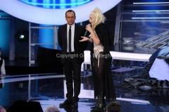 06/12/2013 Roma ultima puntata di Tali e Quali Show, nella foto Serena Autieri