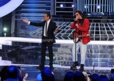 06/12/2013 Roma ultima puntata di Tali e Quali Show, nella foto Giò Di Tonno
