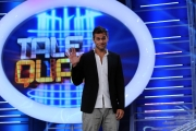 11/09/2013 Roma presentazione della trasmissione Tali e Quali, nella foto Attilio Fontana