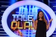 11/09/2013 Roma presentazione della trasmissione Tali e Quali, nella foto Clizia Fornasier