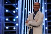 11/09/2013 Roma presentazione della trasmissione Tali e Quali, nella foto Carlo Conti