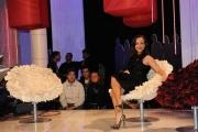 Roma 2/12/09 registrazione della prima puntata della trasmissione TATAMI, nella foto: Camila Raznovich