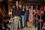 Roma 15/1/09 registrazione della nuova serie del programma TATAMI, nella foto Camila Raznivich, Con gli autori