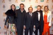 Gioia Botteghi/OMEGA 22/01/06Passerella dei TELEGATTI: Il Cast Di Striscia + Bongiorno
