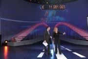 Roma 12/12/09 Maratona di Telethon nella foto Carlucci, Frizzi,
