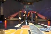 Roma 12/12/09 Maratona di Telethon nella foto Carlucci, Frizzi, Di Mare, Belli , Maggioni