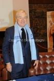 14/12/2010 Roma Conferenza stampa di presentazione in rai per il Telethon, nella foto il presidente della rai Paolo Garimberti