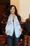 14/12/2010 Roma Conferenza stampa di presentazione in rai per il Telethon, nella foto Maria Grazia Cucinotta