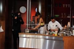 26/04/2013 Roma seconda puntata di La terra dei cuochi , ai fornelli Rosita Celentano